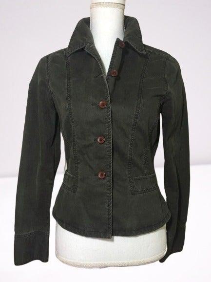 Womens Jean Jacket S Denim Blazer Small