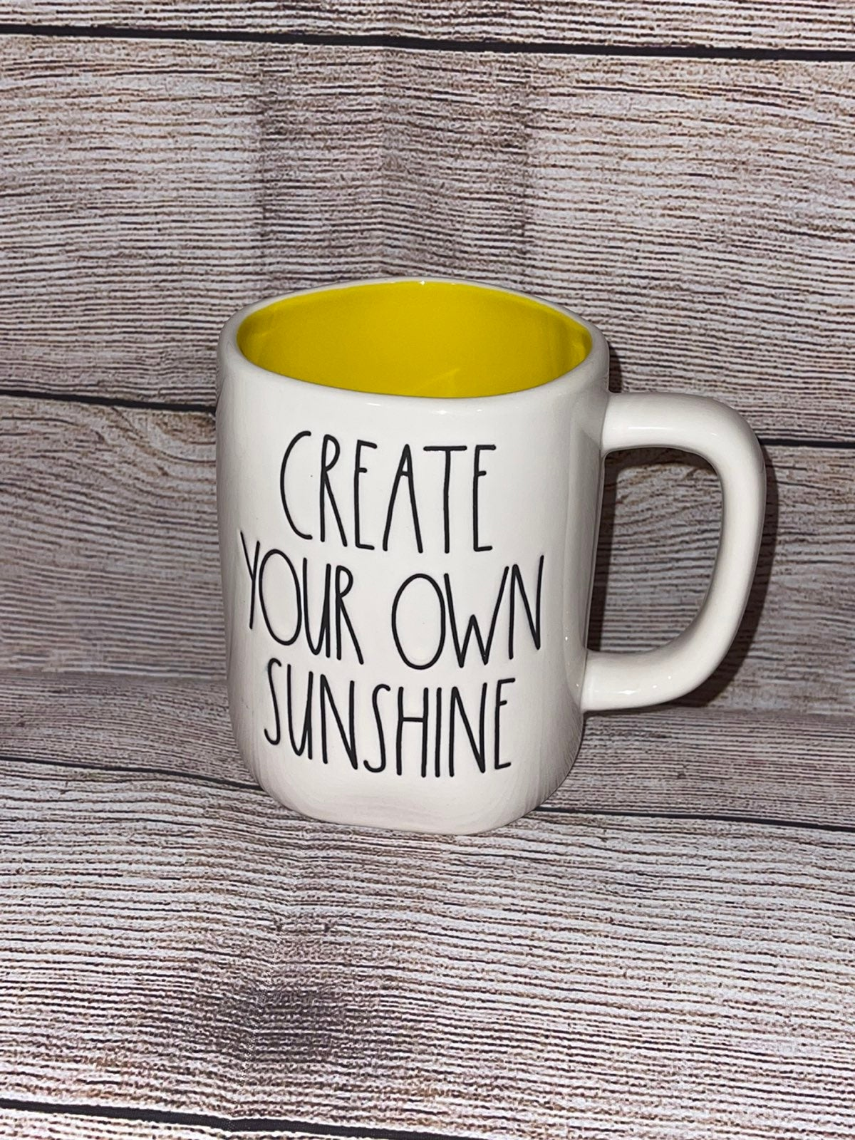 Rae Dunn CREATE YOUR OWN SUNSHINE Mug