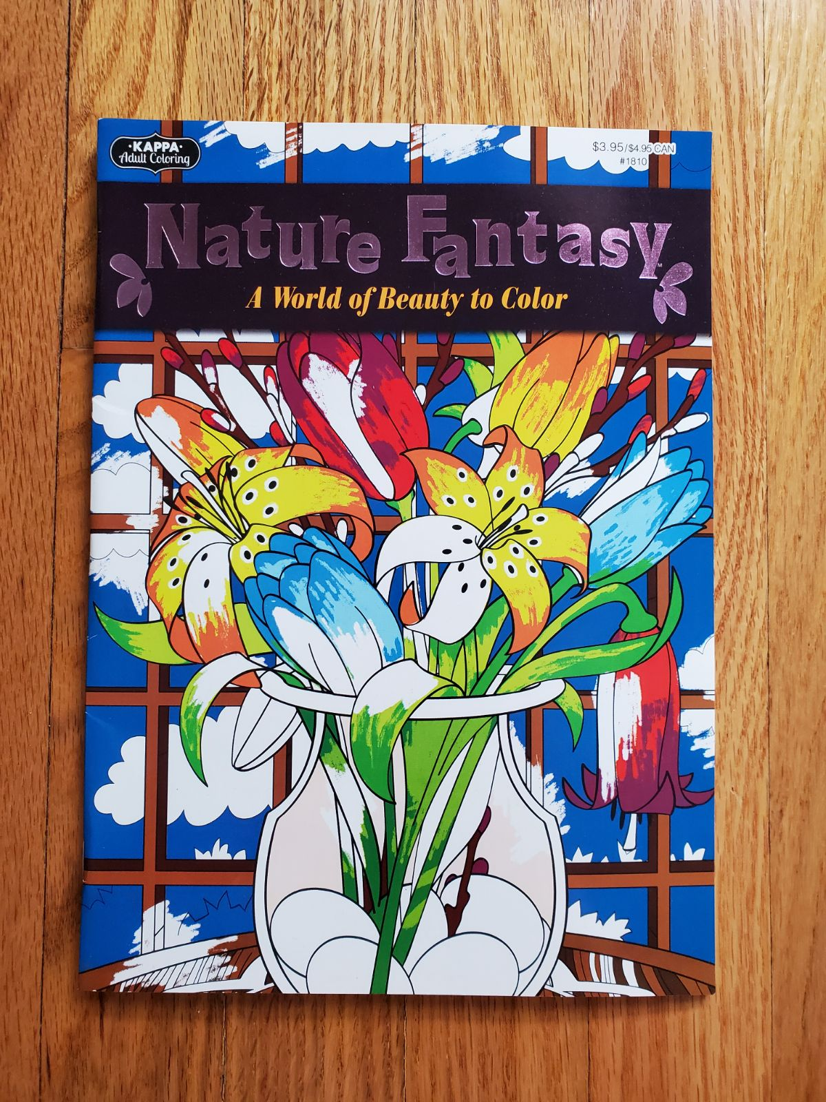Adult Coloring Book Nature Fantasy
