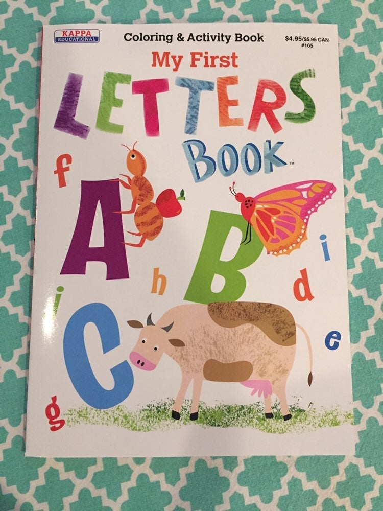 Letters Coloring/Activity Book