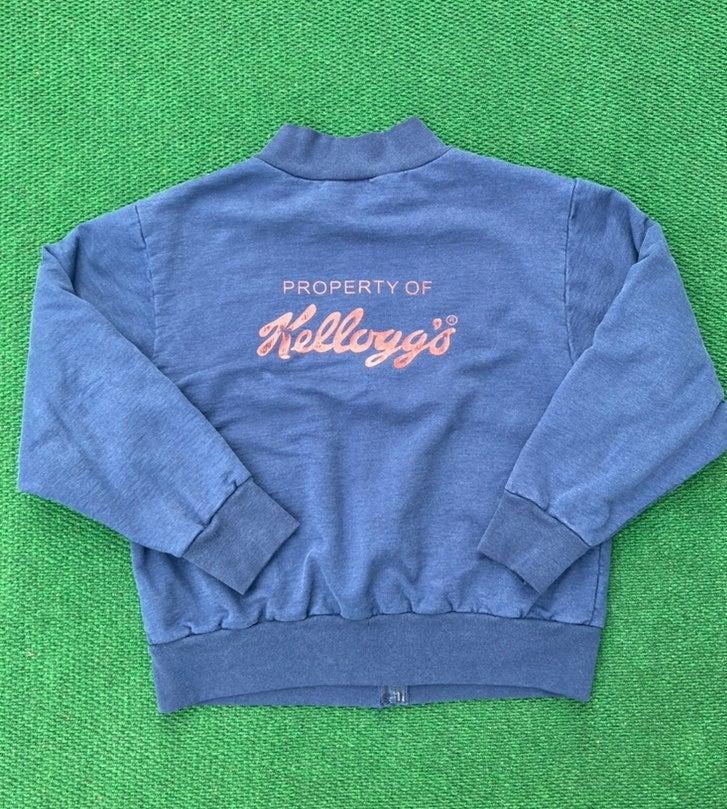 Vintage camber kelloggs zip sweatshirt