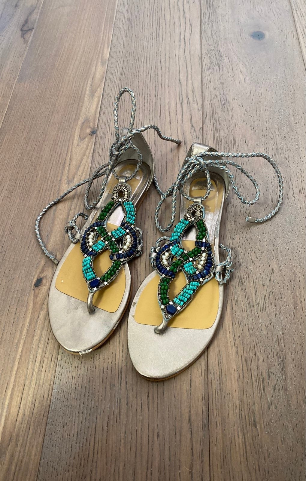 Dolce Vita Beaded Sandals size 7.5