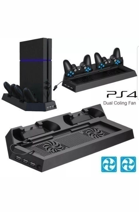 PS4 vertical cooling stand & Charger