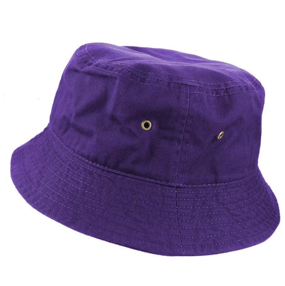 Purple Bucket Hat