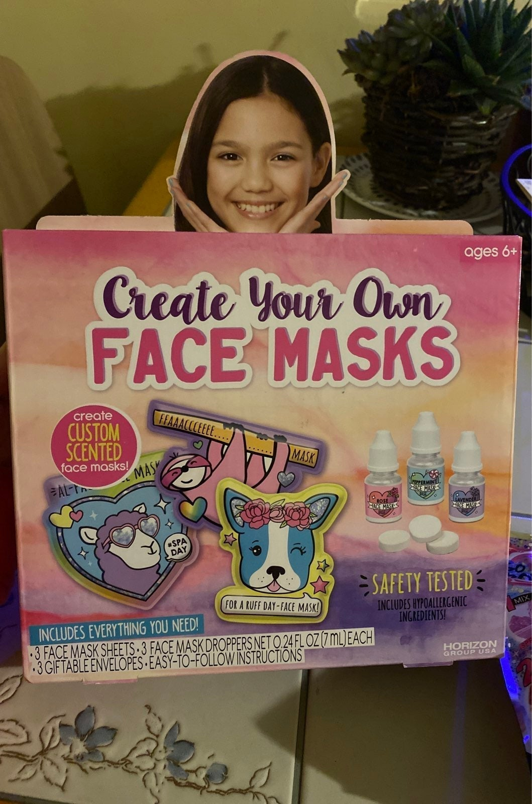 Create your own Face Mask horizon group