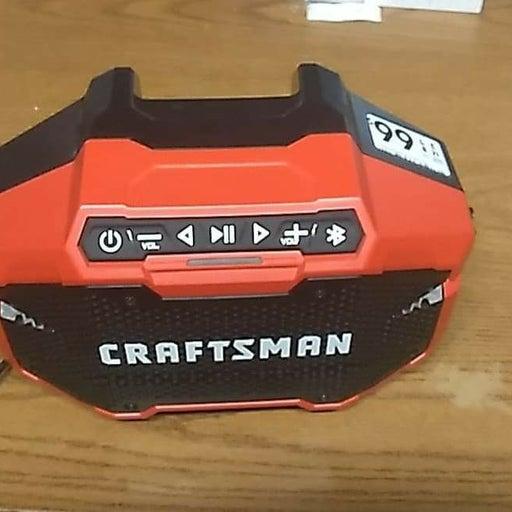 Crafstman Bluetooth speaker and 2 smalle