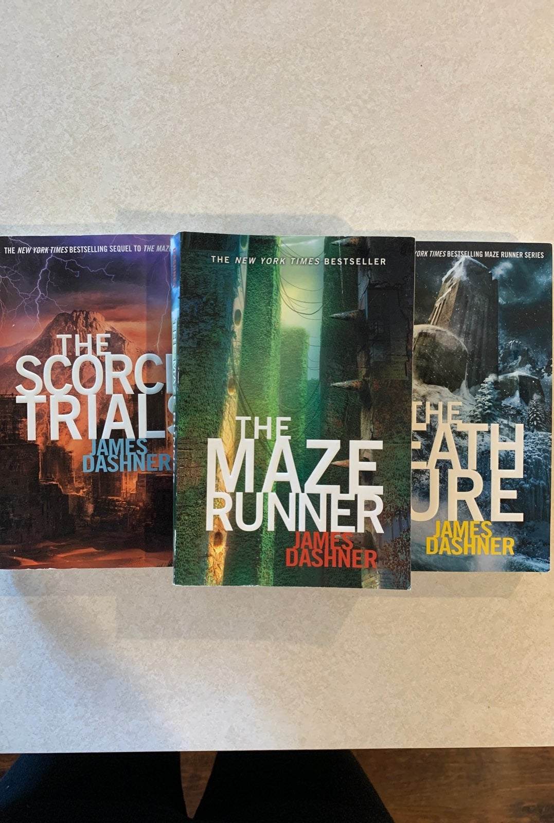 the maze runner series james dashner 3