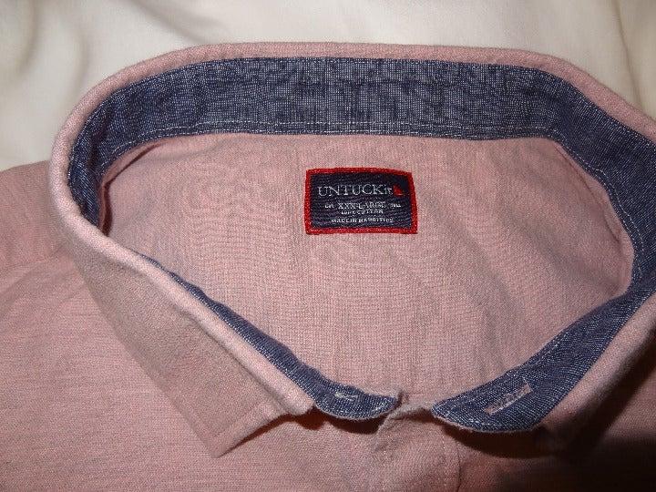 Men's UnTuckIT Long Sleeve Shirt 3XL
