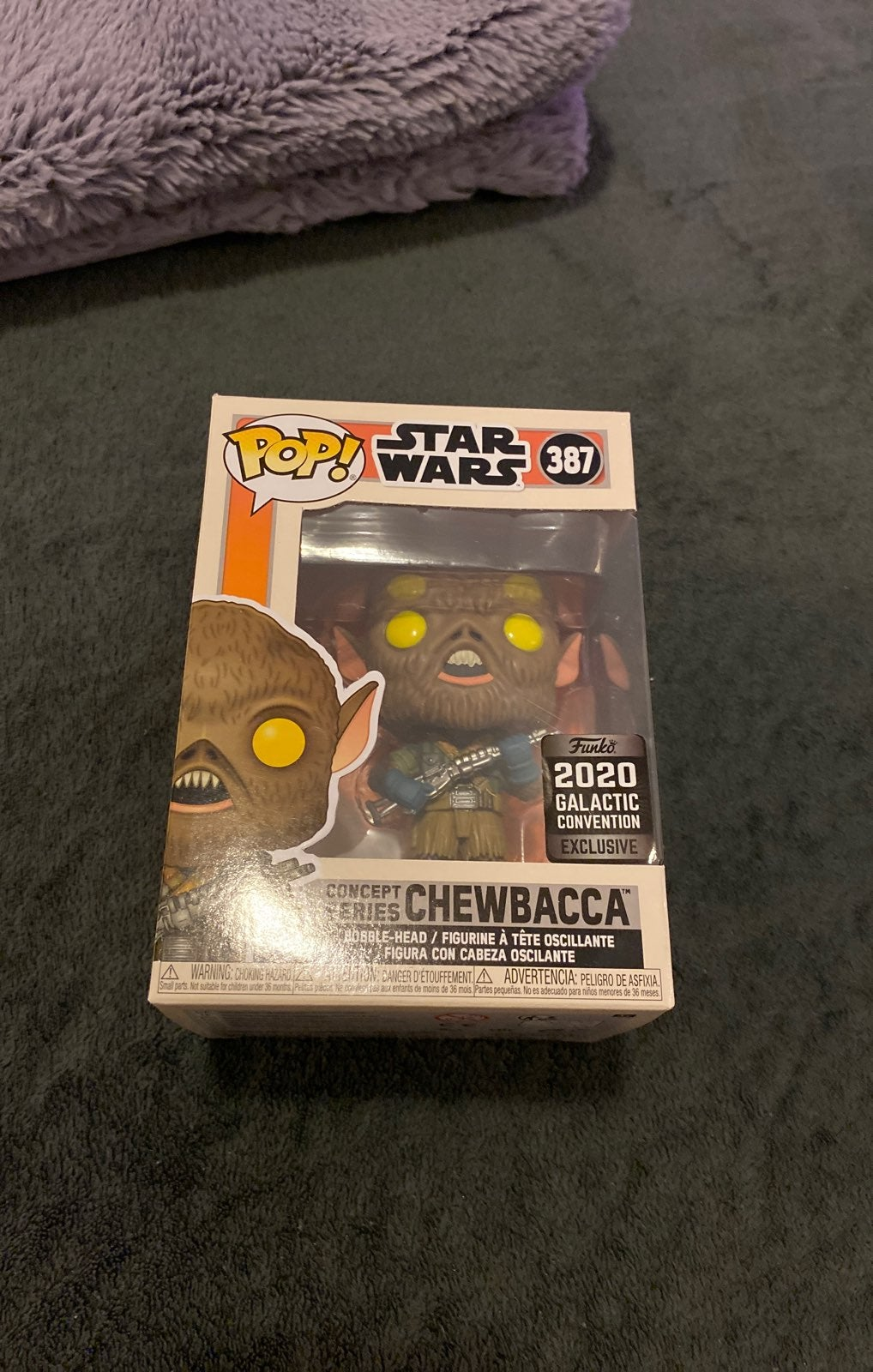 Chewbacca Concept Series Funko Pop