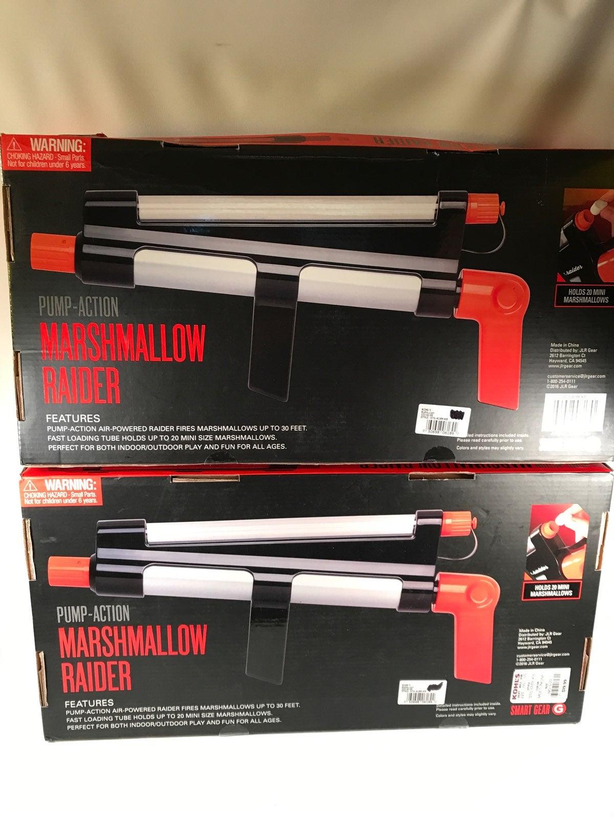 2 Smart Gear Pump Action Marshmallow Gun