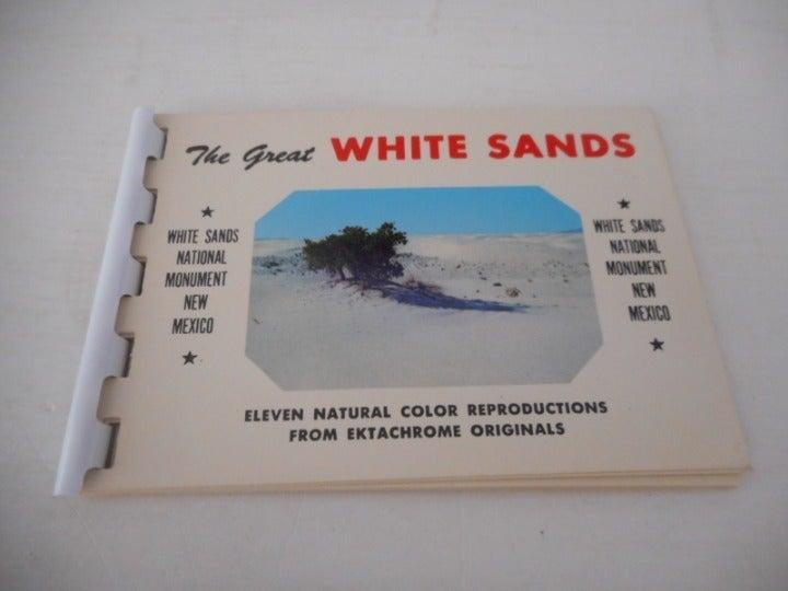 White Sands New Mexico Ektachrome Book