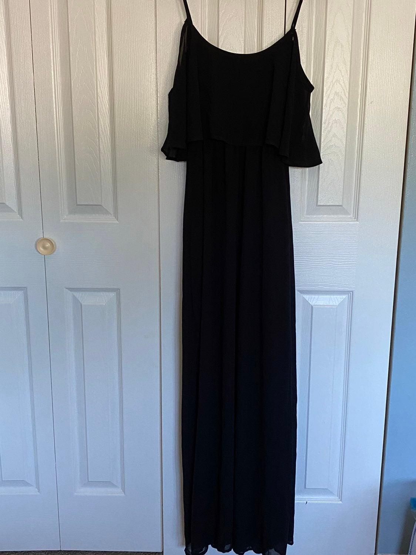 Nwt Pinkblush Black Maxi Dress