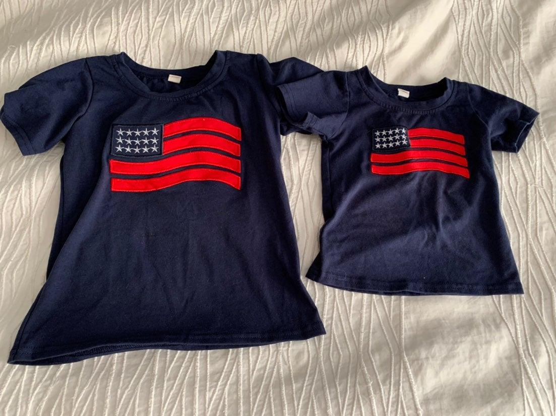 Boutique flag t shirts