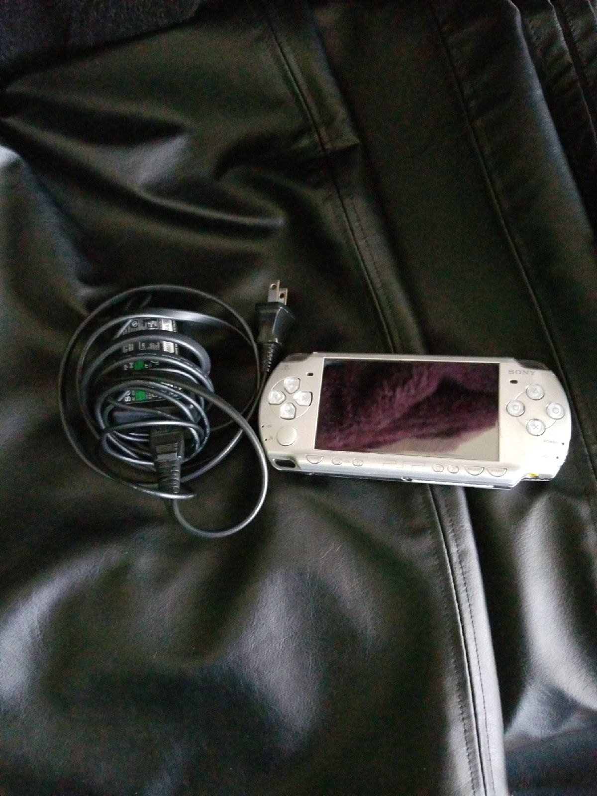 Sony PSP Console and Charger
