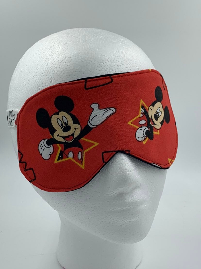 Red Mickey Mouse Sleep Mask