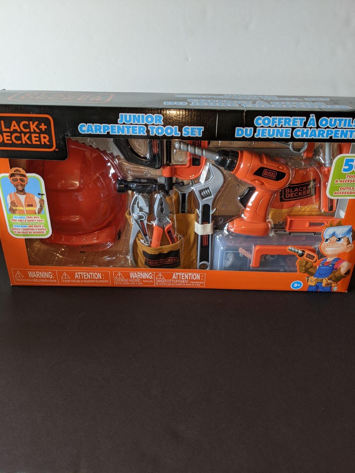 Black & Decker 50pc Junior Carpenter Set