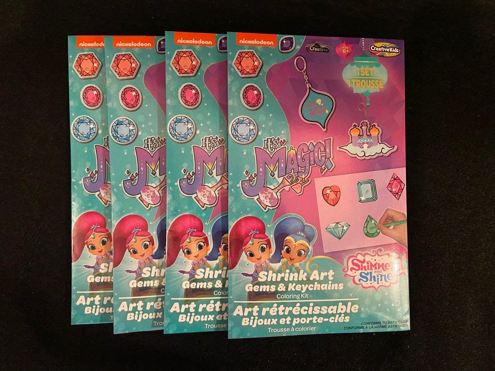 Nickelodeon Shimmer & Shine ShrinkyDinks