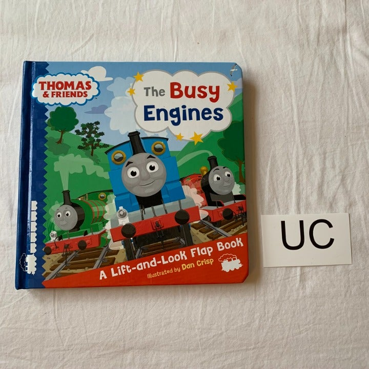 Thomas the Train Busy Engines Flap Book