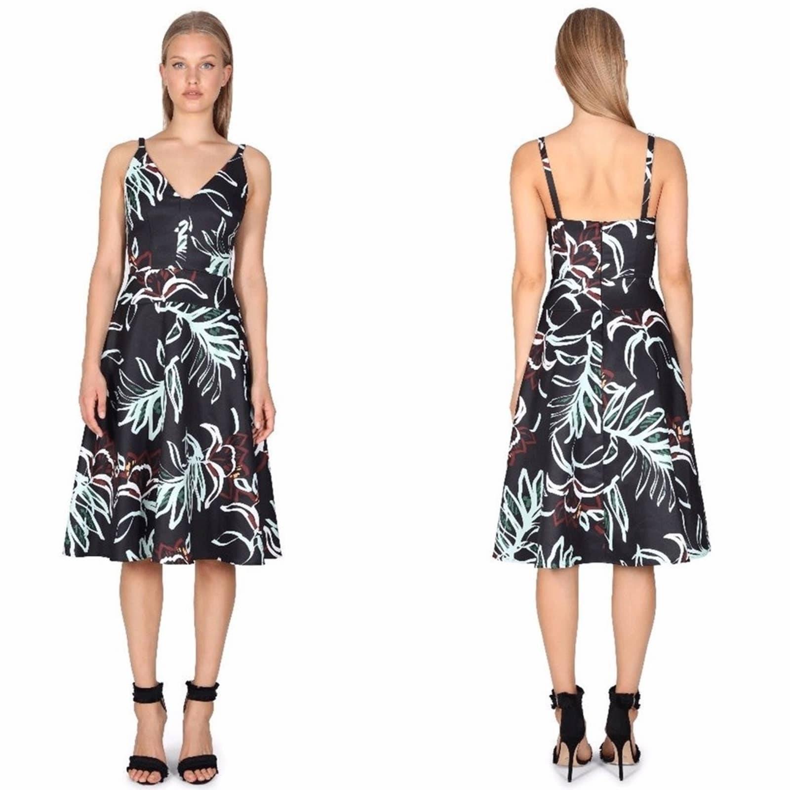 Cooper St. Rainforest Fit N Flare Dress