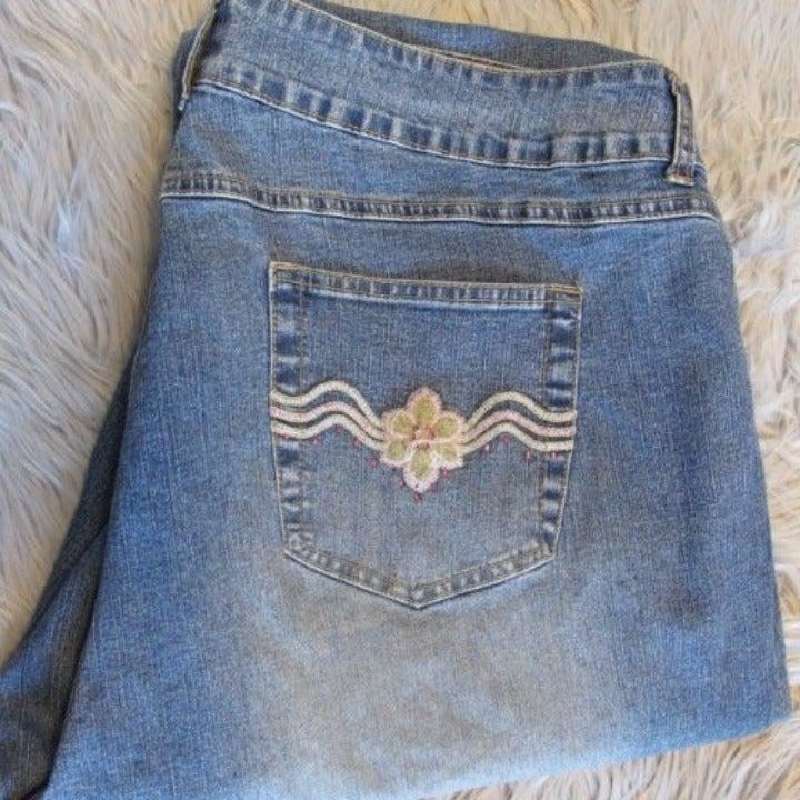 Carolina Blues straight leg jeans S-24W