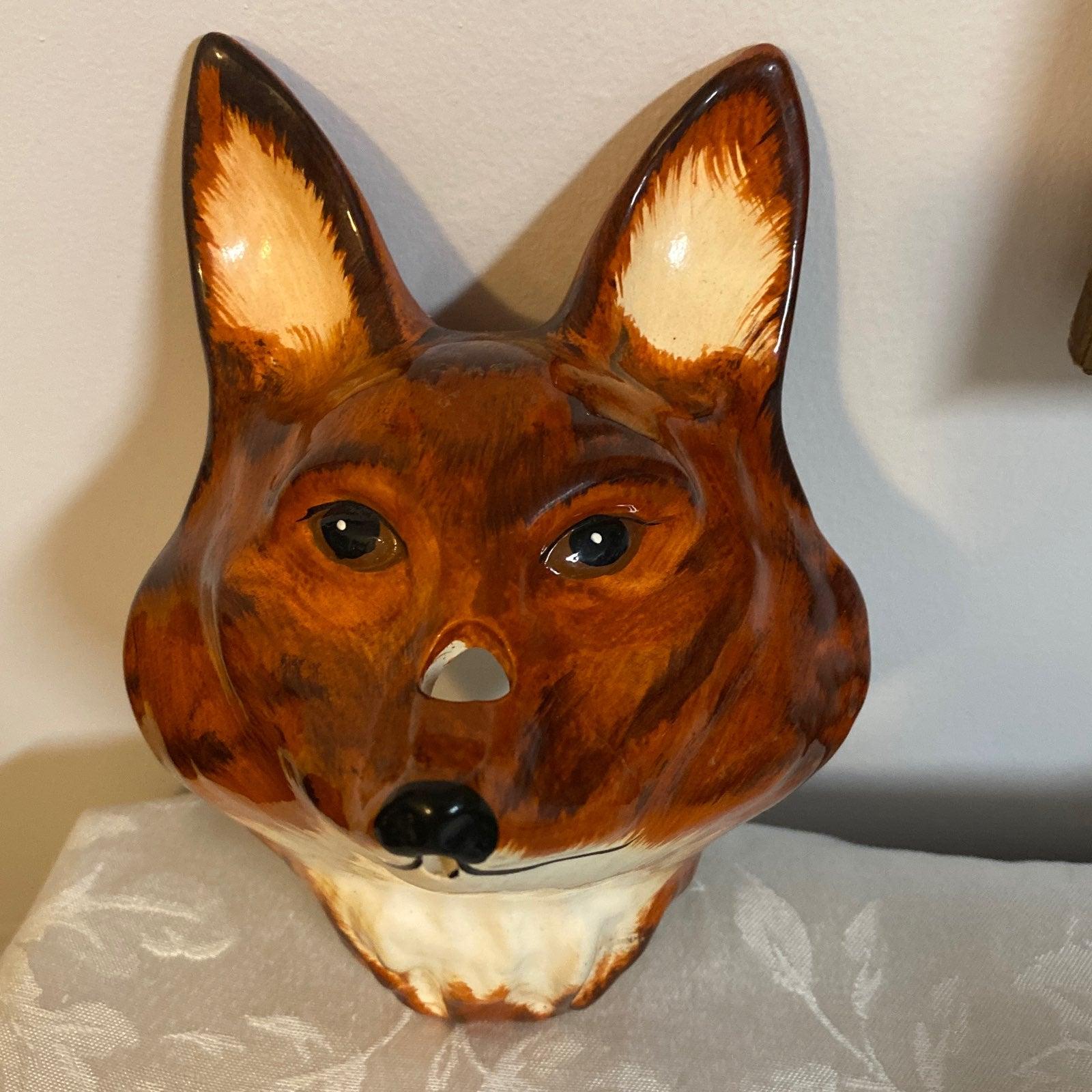 Babbacombe Porcelain Fox String Holder