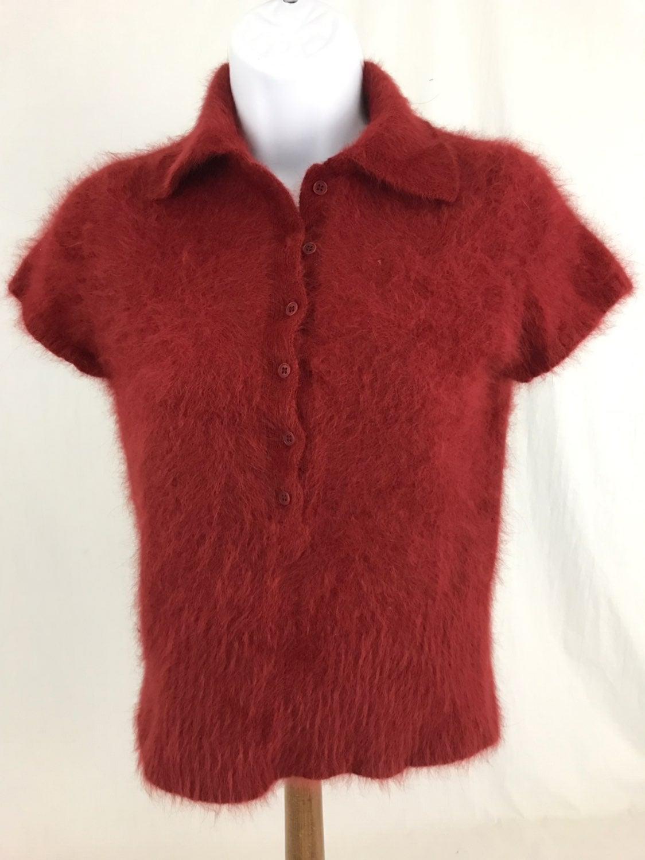 J Crew Angora Hair Sweater Size Medium