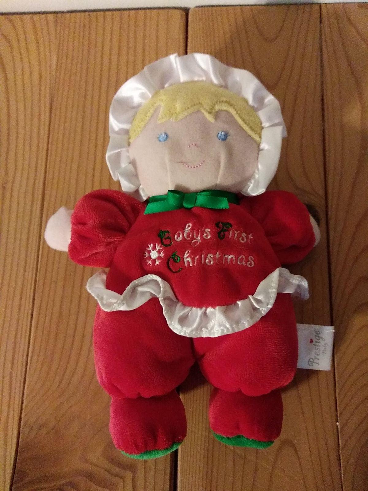 Prestige Babys First Christmas Doll