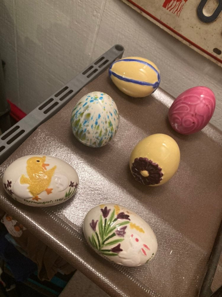 Ceramic Handmade Easter Eggs