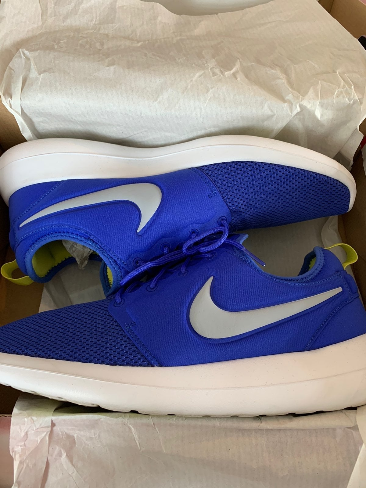 Nike Roshe Two Paramount Blue Mens 12