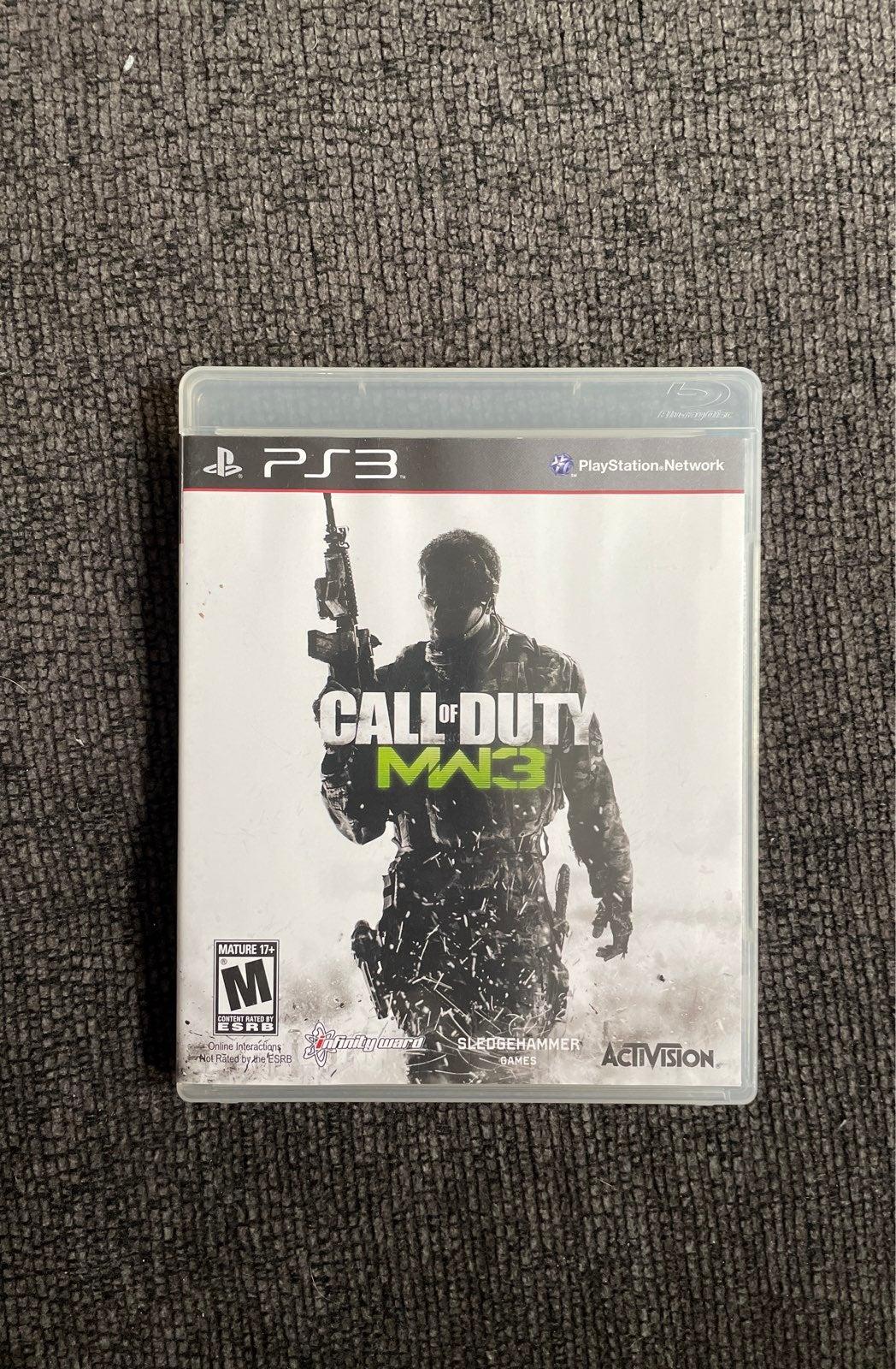 Call of Duty: Modern Warfare 3 on PS3