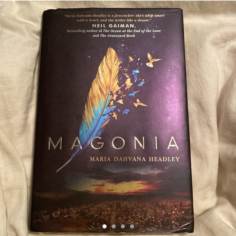 Magonia by Maria Dahvana Headly