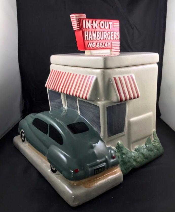 IN-N-Out Burger Cookie Jar (2007)