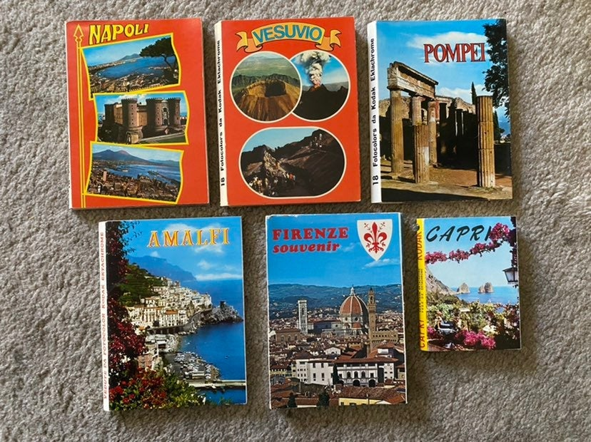 Vintage Kodak Post Card Souvenir Books