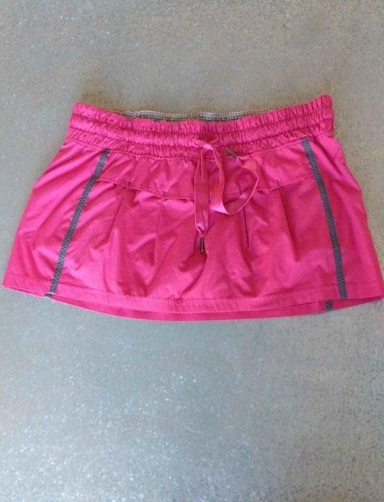 Lululemon VGUC Tennis Skirt Skort Bike 8