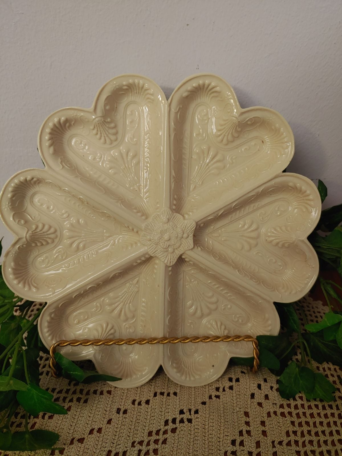 MMA cookie mold Staffordshire 1750