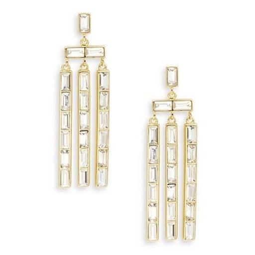 Gorjana desi chandelier earrings nwt