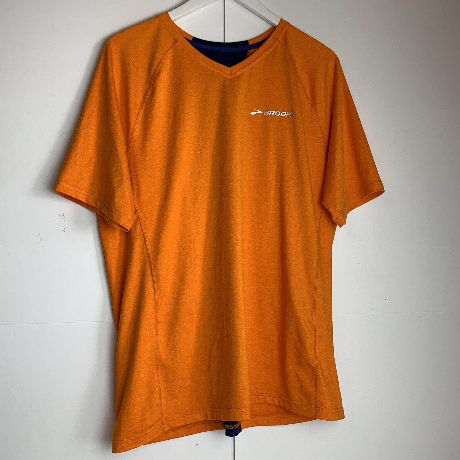 Brooks Equilibrium athletic shirt v neck
