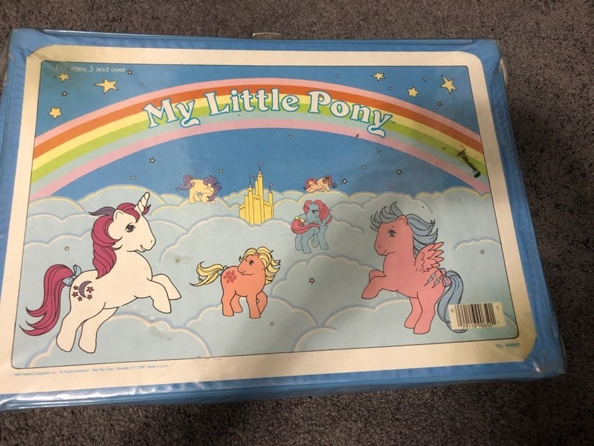 Vintage My Little Pony Carrying Case