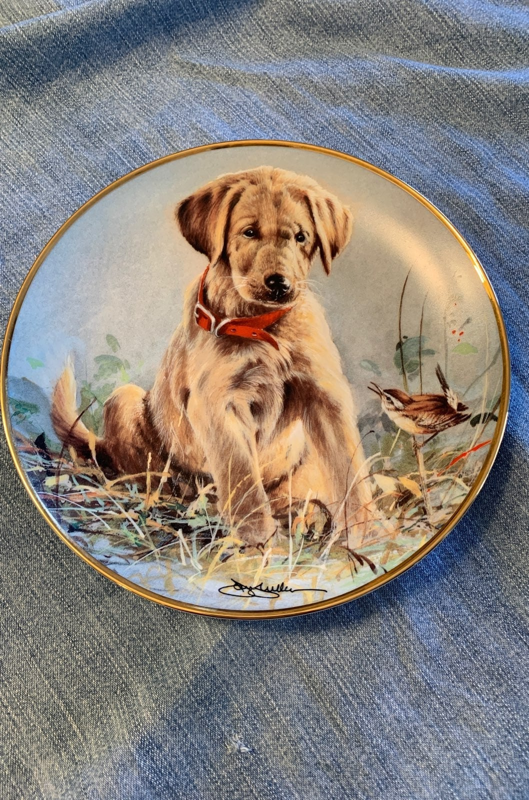 Decorative plate Franklin Mint