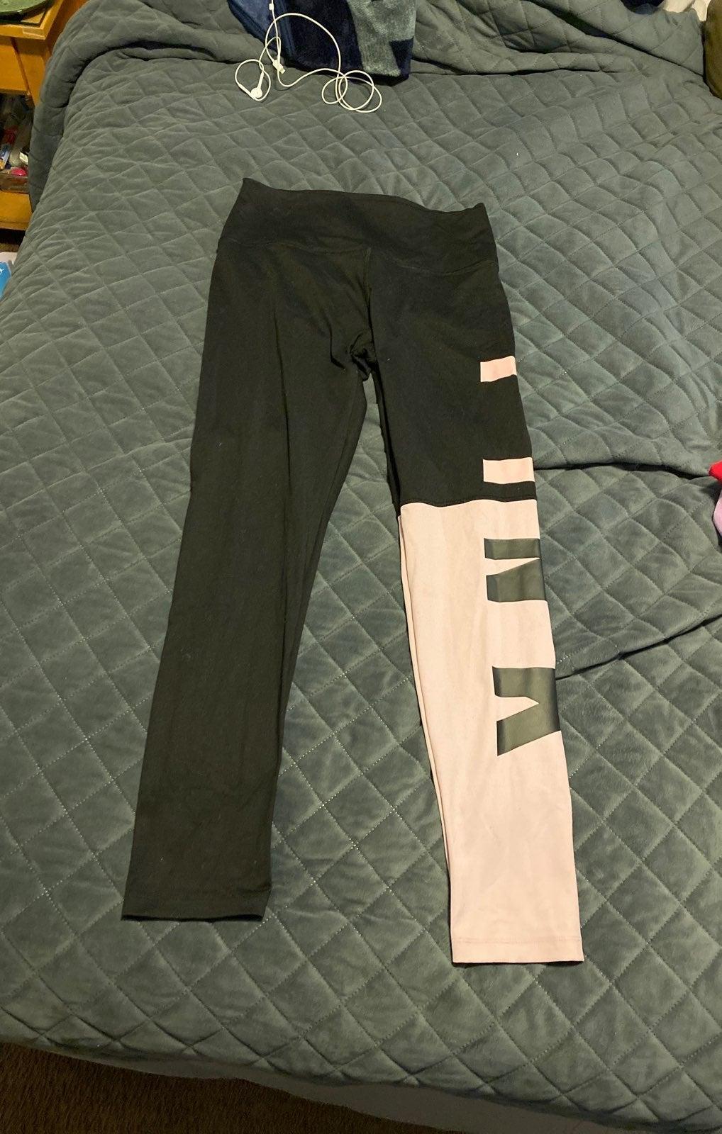 Victoria sceret pink leggings size L