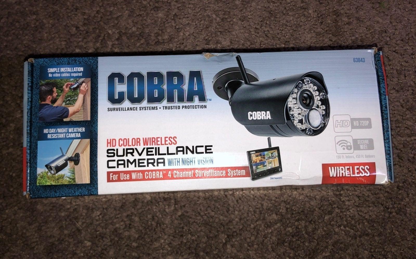 Cobra Wireless survillance camera