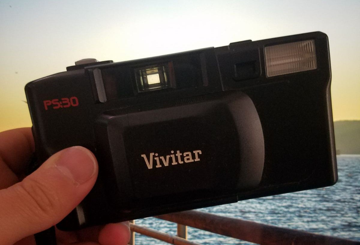 Vivitar Point and Shoot PS:30 Film Camer