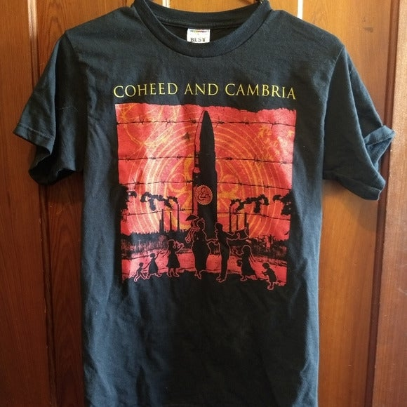 COHEED AND CAMBRIA T-SHIRT Rock Music
