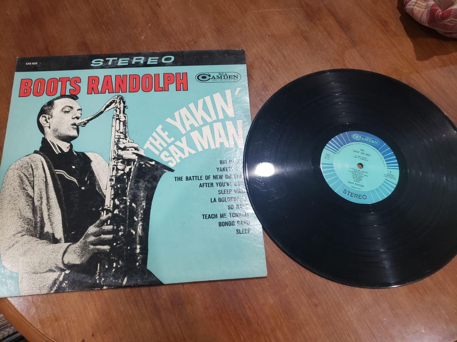 """1963 Boots Randolph """"The Yakin' Sax Man"""