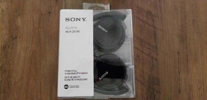 Sony Stereo Headphones Quick Folding