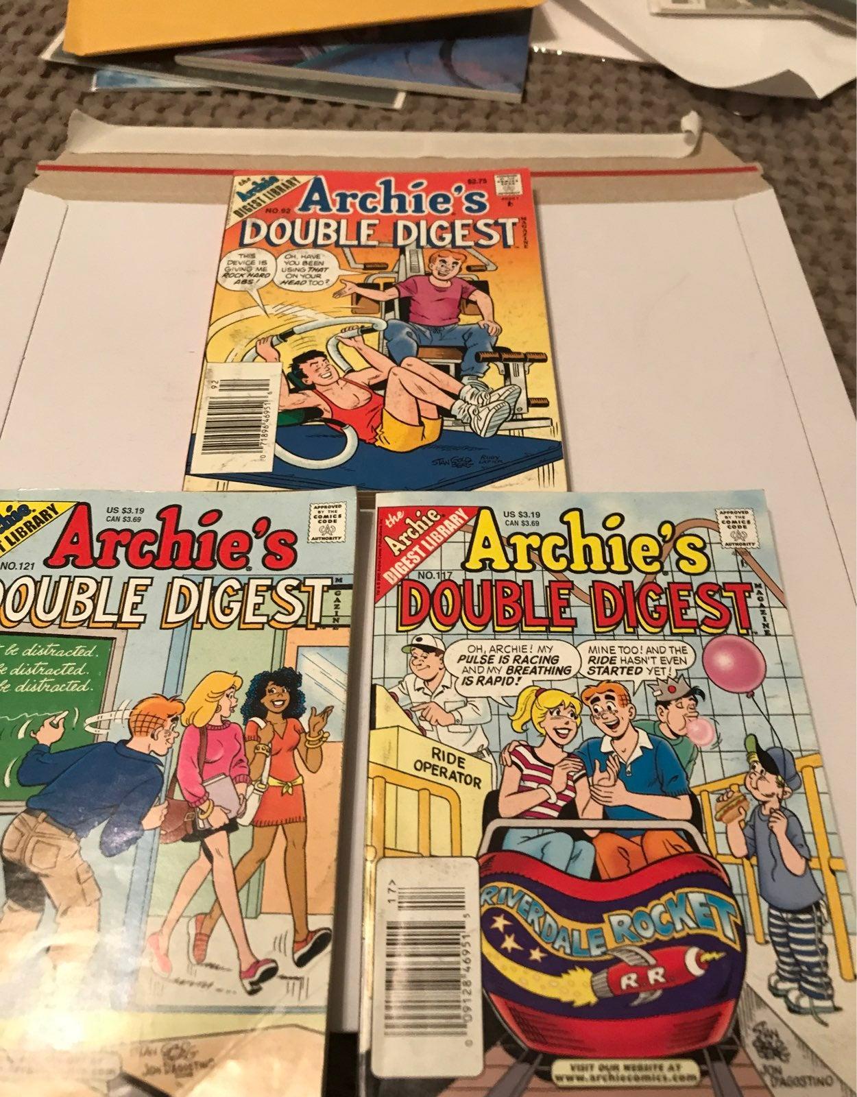 Archie Comics Double Digest -3