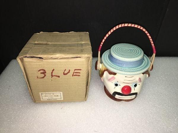 Vintage 1967 Clown Cookie Jar #10052