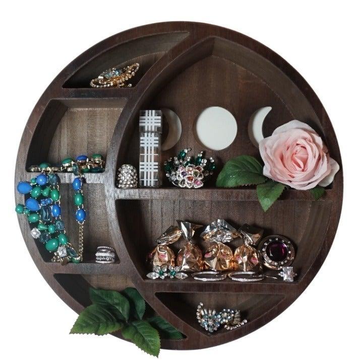Moon Shelf for Crystals - Crystal Shelf