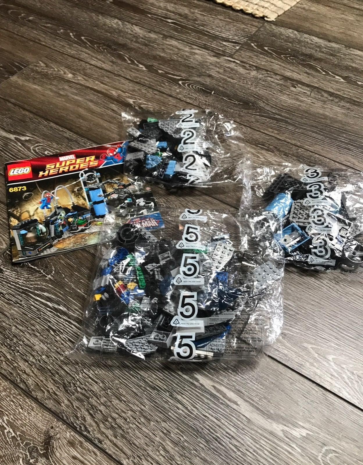 Lego incomplete set Marvel