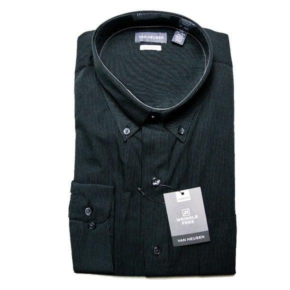 Van Heusen Wrinkle Free Shirt Size Large